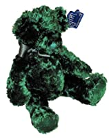 Applause Plush Bear By Russ Berrie Emerald Green Floral # 49537 by Applause