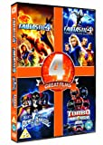 Fantastic Four / Fantastic 4: Rise of the Silver Surfer / Mighty Morphin Power Rangers / Turbo: A Power Rangers Movie [DVD] [1995]