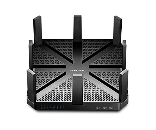 TP-LINK Talon AD7200 Ethernet Negro - Router (Negro, DC, 0 - 40...