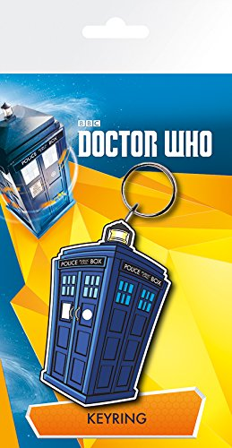 GB eye, Doctor Who, Tardis Illustration, Portachiavi