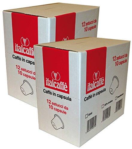 Purchase 2 x 120 Nespresso Compatible Capsules Italcaffè Gold Coffee Pods - Italcaffè S.p.A.