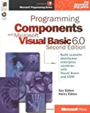 img - for Programming Components with Microsoft Visual Basic 6.0 (Microsoft Programming Series) by Eddon, Guy, Eddon, Henry (1998) Paperback book / textbook / text book