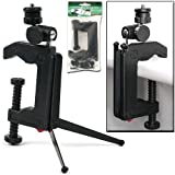 Swivel Camera Stand - Tripod or Table C-Clamp by NorthWest™
