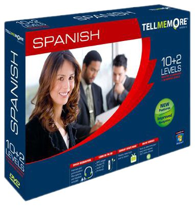 TELL ME MORE Spanish v10 10 levels+ business (PC DVD)
