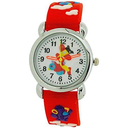 relda-childrens-boys-3d-flying-aeroplane-red-silicone-strap-watch-rel48