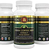 #1 Svetol® Ultra Pure GCA Green Coffee Bean Extract with 50% GCA ★ 1100 mg per Serving (only 2 capsules/day) - All Natural - Premium Quality - Clinically Proven Weight Loss Supplement and Appetite Suppressant - No Artificial Additives - 100% Money Back Gu