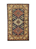 L'Eden del Tappeto Alfombra Uzebekistan Multicolor 94 x 156 cm