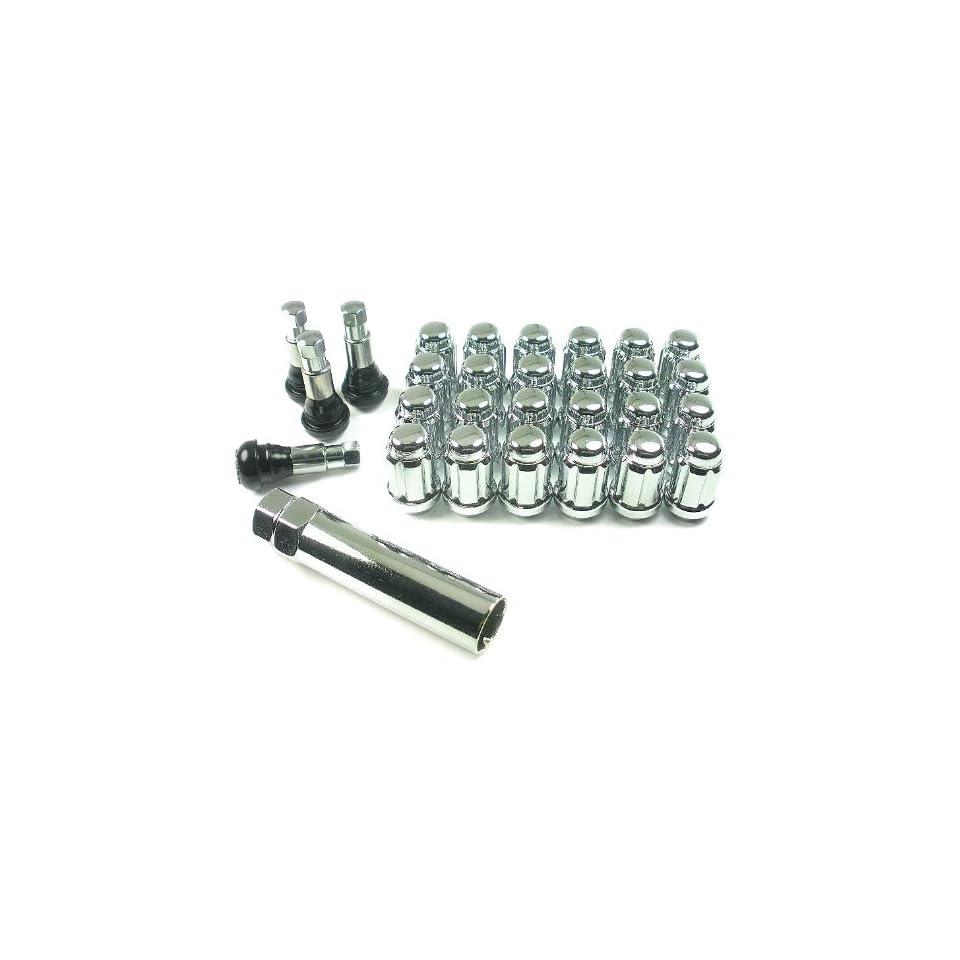 Wheel Pros W56716S 7/16 Spline Closed End Wheel Lug Nut Installation Kit   6 Lug