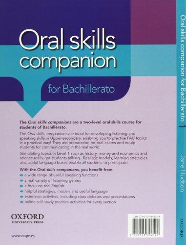 Oral Skills Companion 1: