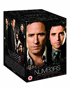 Numb3rs - The Complete Seasons 1-6 [31 DVDs] [UK Import]