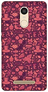 The Racoon Lean Chai the Tea Pink hard plastic printed back case / cover for Xiaomi Redmi Note 3