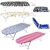 Portable Compact Folding Table Top Ironing Iron Board Camping Travel Foldable (Animal)