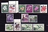 ノーフォーク島の普通切手 1966年シリーズ12種完+1種