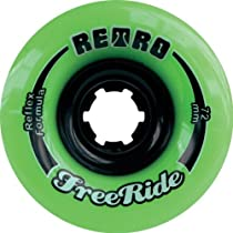 RETRO FREERIDE 72mm 80a LIME (Set Of 4)