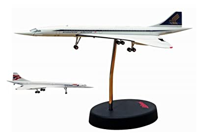 Maquette British Airways Singapore Airlines en Métal 1/250 Nez Mobile