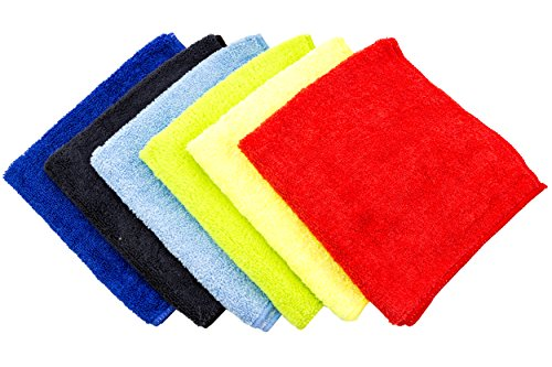 dry rite premium microfiber cloth pack of 6 best cleaning towels for fine automobile finishes. Black Bedroom Furniture Sets. Home Design Ideas
