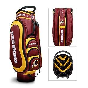 Washington Redskins Golf Bag: 14 Way Medalist Cart Bag by Team Golf