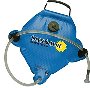 SurfStow Sunshine Portable Shower, 2.5-Gallon