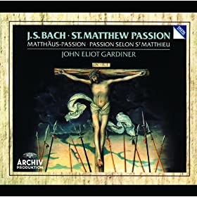 "J.S. Bach: St. Matthew Passion, BWV 244 / Part One - No.13 Aria (Soprano): ""Ich will dir mein Herz schenken"""