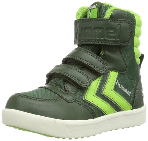 Hummel HUMMEL STADIL SUPER JR POLY HG High Unisex-Child Green Grün (KOMBU GREEN 6403) Size: 27
