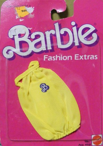 Barbie Yellow Shirt Best Buy Fashion Extras 1984