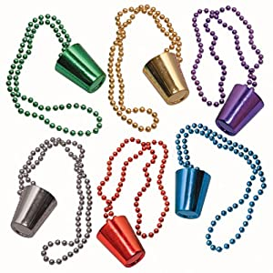 Click to buy SHOTGLASS BEADS MARDI GRASfrom Amazon!