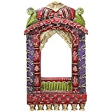 APKAMART Hand Crafted Jharokha Wall Hanging - 16 Inch - Colour - Handicraft Decorative Showpiece For Wall Decor...