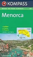 Minorque 1:50.000 (Espagne, Iles Baléares) randonnée topographique et carte cycliste # 243