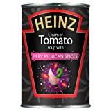 Heinz Cream of Tomato Soup with Fiery Mexican Spices 400 g (Pack of 12)
