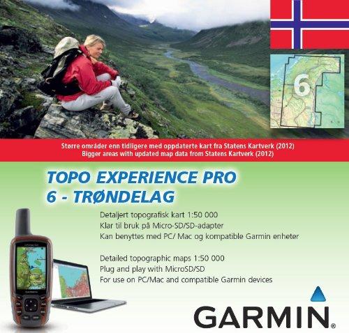 Garmin TOPO Norway Experience Pro 6 Tr›ndelag, 010-11912-00 (Tr›ndelag)
