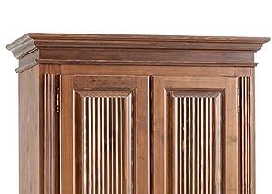 Jumbo-Möbel Dielenschrank FREIBURG Fichte massiv colonial B: 110 cm