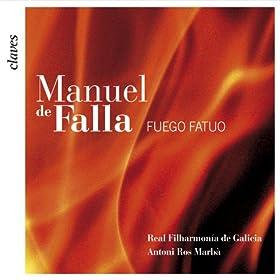 Amazon.com: Falla: El Sombrero de Tres Picos - El Fuego Fatuo: Real