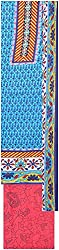 Payal Collection's Women's Cotton Unstitched Salwar (Blue)