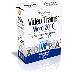 Word 2010 Training Videos - 12.5 Hours of Word 2010 training by Microsoft Office: Specialist, Expert and Master: 2000, XP (2002), 2003, 2007, 2010 and Microsoft Certified Trainer (MCT), Kirt Kershaw