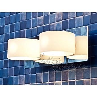 Moderne double applique luminaire luminaire du miroir for Miroir 220 review