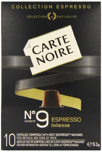Carte Noire Espresso No 9 Intense 10 Coffee Capsules 53 g (Pack of 8)