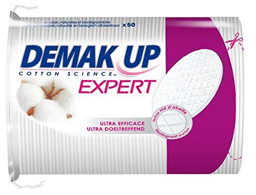 Demak'Up Duo+ - Dischetti struccanti, confezione da 50, ovali, lotto di 4