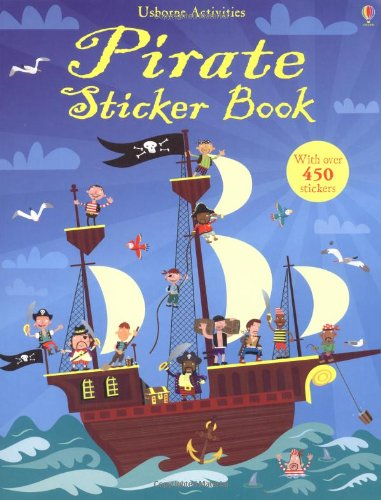 Pirate Sticker Book (Usborne Sticker Books)