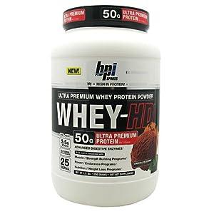 BPI Sports Whey-hd, Chocolate Cookie, 2.31 Pound