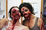 Zombie Skin with Instructions Halloween Make-up Fancy Dress Liquid latex accessory