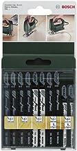 Comprar Bosch 2 609 256 744 - Juego de hojas de sierra de calar de 10 piezas vástago en T