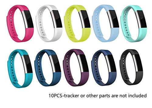 Fitbit JOMOQ alta bracciali, stile braccialetti in Silicone da polso per attività sportiva, in Silicone, Wireless Accessories-Orologio da polso con fibbia di sicurezza