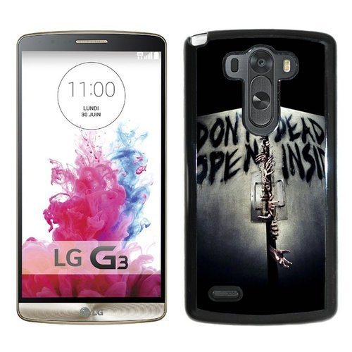 LG G3 Case,Walking Dead Inside Black LG G3 Screen Phone Case Luxury and Cool Design (Lg G3 Phone Case Walking Dead compare prices)