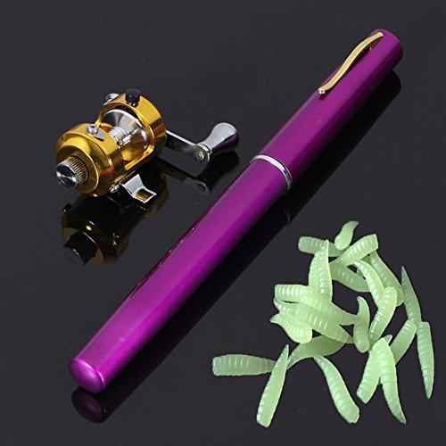 Foocc Mini Portable Pocket Pen Shape Aluminum
