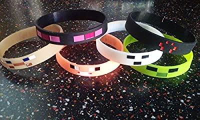New GLOW IN THE DARK Kids bracelets and party favors from MA Creations