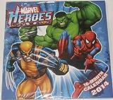 Marvel Heroes - 2014 Calendar 16 Month