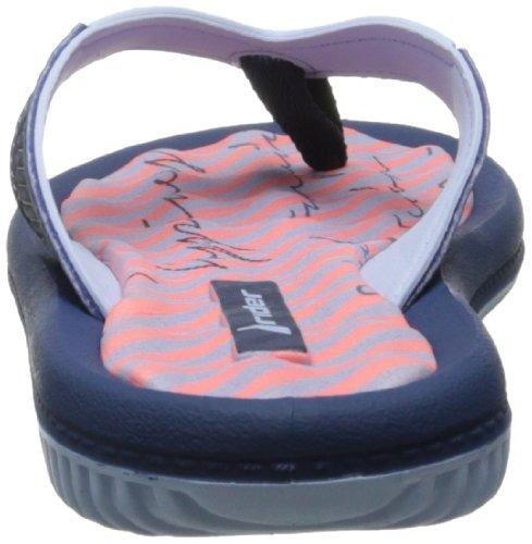 Rider Women's Dunasvi Thong Sandal,Blue/Pink,8 M US