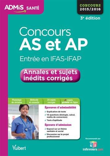 Concours AS et AP (Aide-soignant et Auxiliaire de puériculture)