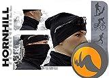 Balaclava Cycling Neck Tube Collar Mask Warmer Bandanna Cap Hat silver ions UNI