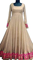 Everest women's Silk-Banglory Machine Work white Semi-Stitched Bollywood Designer Lehenga Choli/partywear lehenga choli.